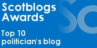 Scotblogs awards - Top 10 politician's blog