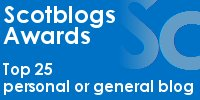 Scotblogs Awards - Top 25 personal or general blog