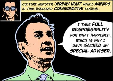 Jeremy Hunt Makes Amends